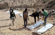 利比亚海滩出现移民尸体