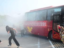 洪洞大槐树举行山西省旅游安全突发事件应急演练