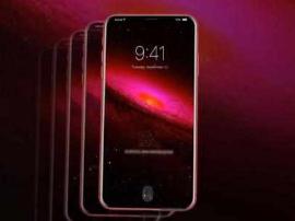 红色版iPhone 8S概念图:96%的屏占比没刘海