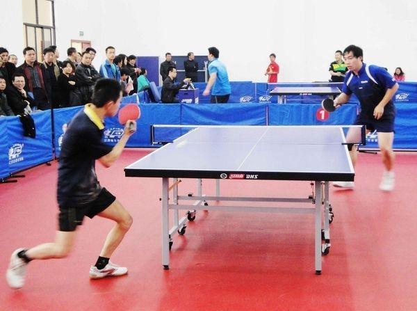 杭城民间乒球赛 吹响新年集结号