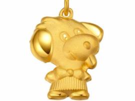 春节临近 狗元素饰品带旺我市黄金珠宝市场