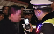 """""""春雷行动"""":交警半小时查获3起酒驾"""