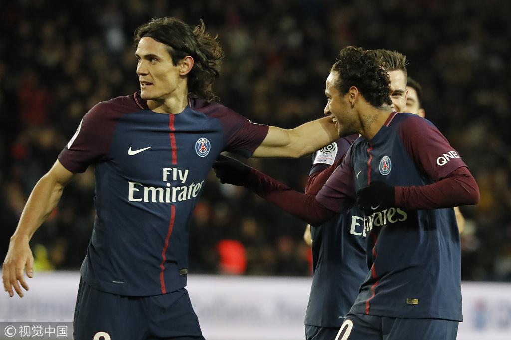 里昂VS巴黎前瞻:法甲榜首对决 内马尔PK费基尔