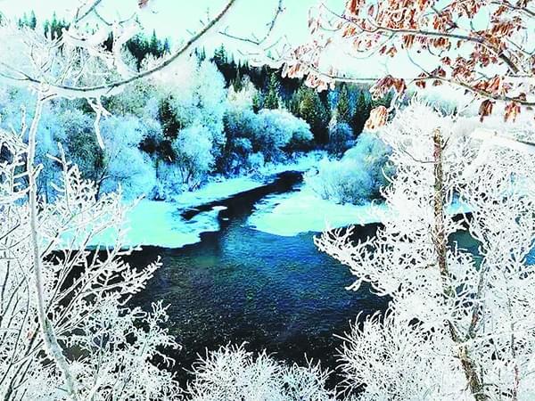 黑龙江冬季千面展现