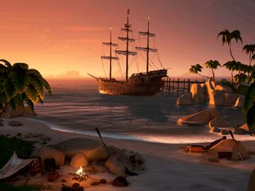 《盗贼之海》将支持跨平台联机 最新4K截图展示