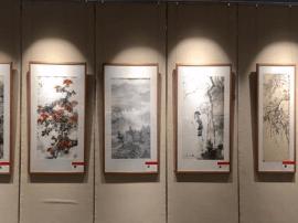 庆建党96周年中国画名家作品展延期7月22日闭幕