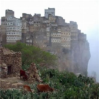 人类也疯狂!那些建在悬崖上的房子 !