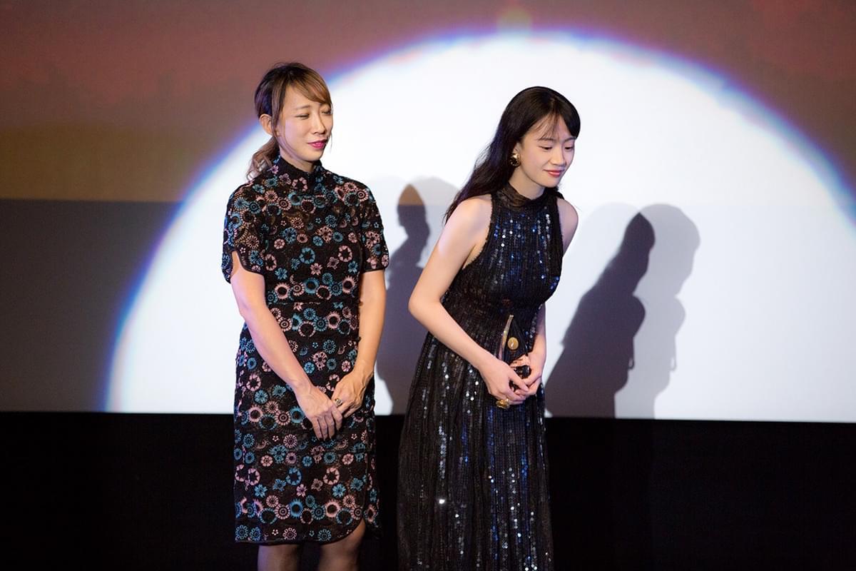 李梦闪耀东京电影节 荣获最具潜力演员奖
