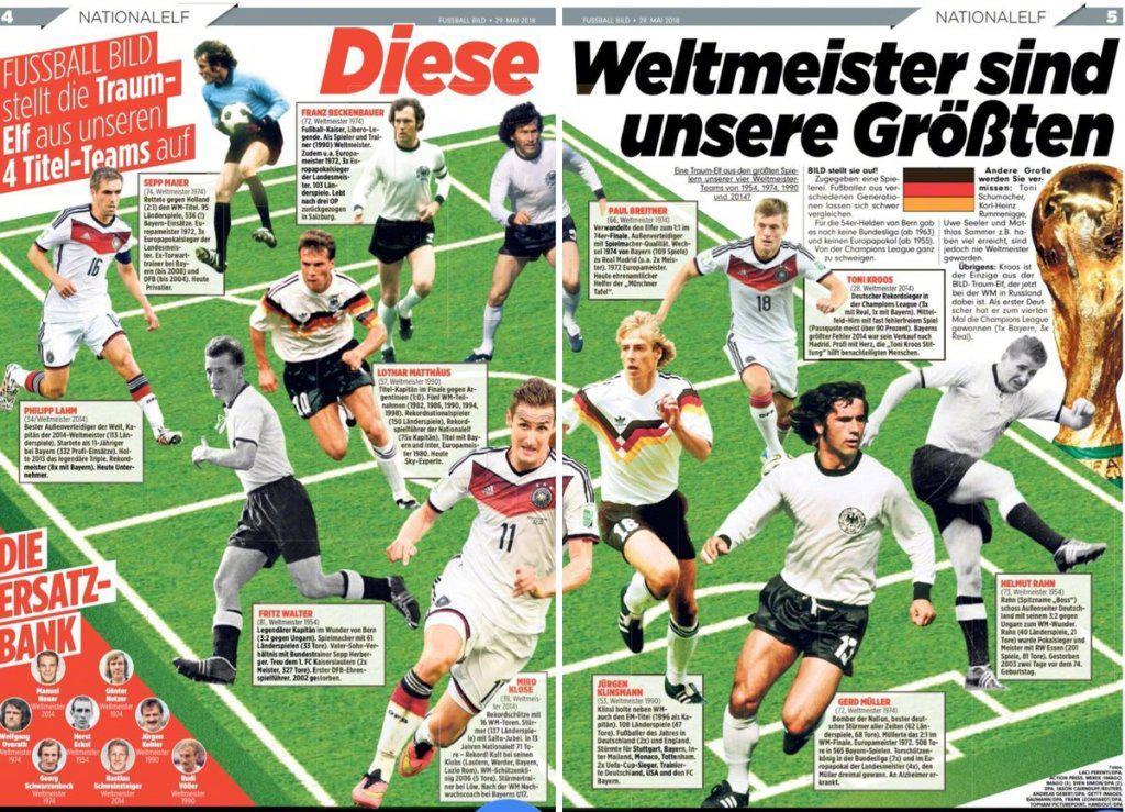 德国史上最强11人,现役只有他!4年前说了一句话,然后…皇马欧冠3连霸!