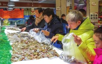 邯郸:春供市场节日商品琳琅满目