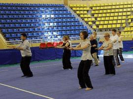 文水县举行健身气功协会成立暨培训大会