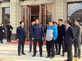 集团助理总裁、山东区域总裁庄青峰莅临东营碧桂园·天
