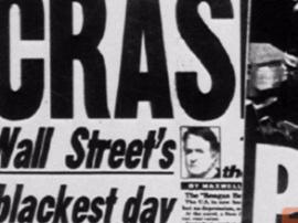 美股大佬齐发警告 1987年大崩盘将再上演?