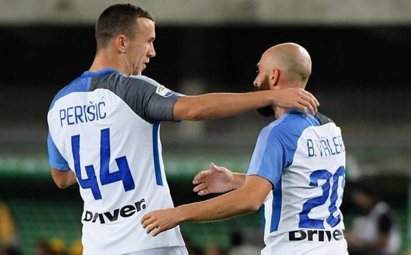 巴莱罗首球佩里西奇破门 国米2-1升至第二