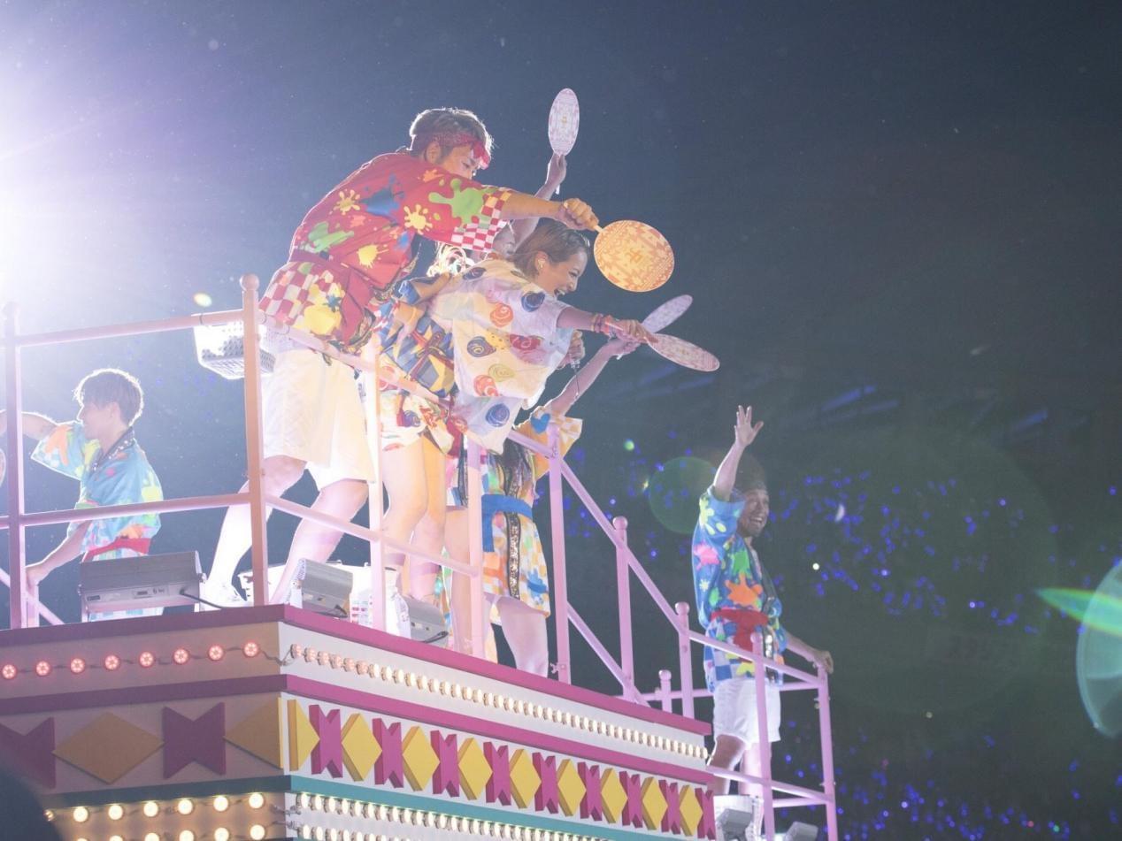 日本夏季音乐节a-nation圆满落幕 滨崎步AAA悉数登场