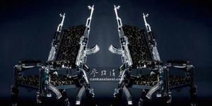 铸剑为犁!大师将AK47制成豪华座椅