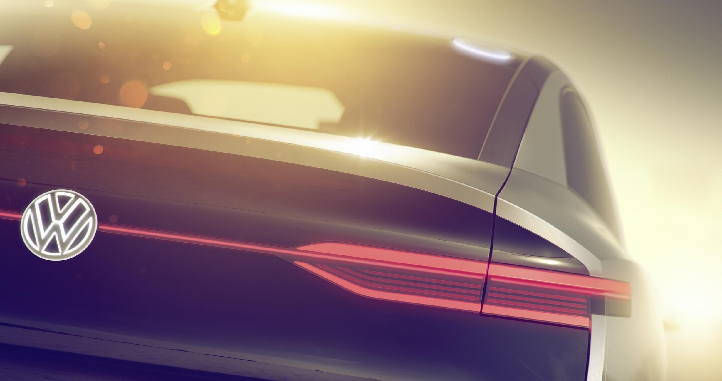 跨界SUV 大众全新I.D.概念车预告图发布