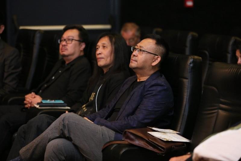 姜武参加意大利中外合拍电影展 《拆弹专家》亮相