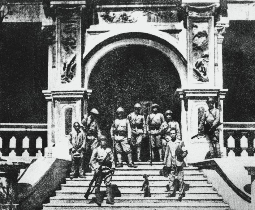 △1931年,日本关东军占领张学良在沈阳的私人住宅