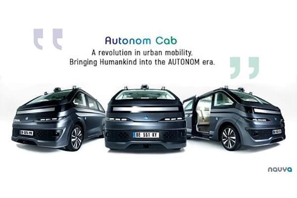 法国公司推出自动驾驶出租车 无任何人工操作配置