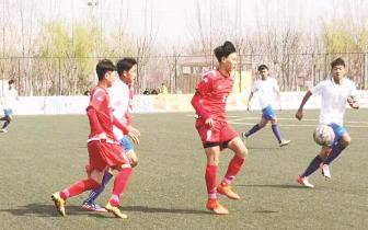 河北省第十五届运动会男子足球甲组预赛结束