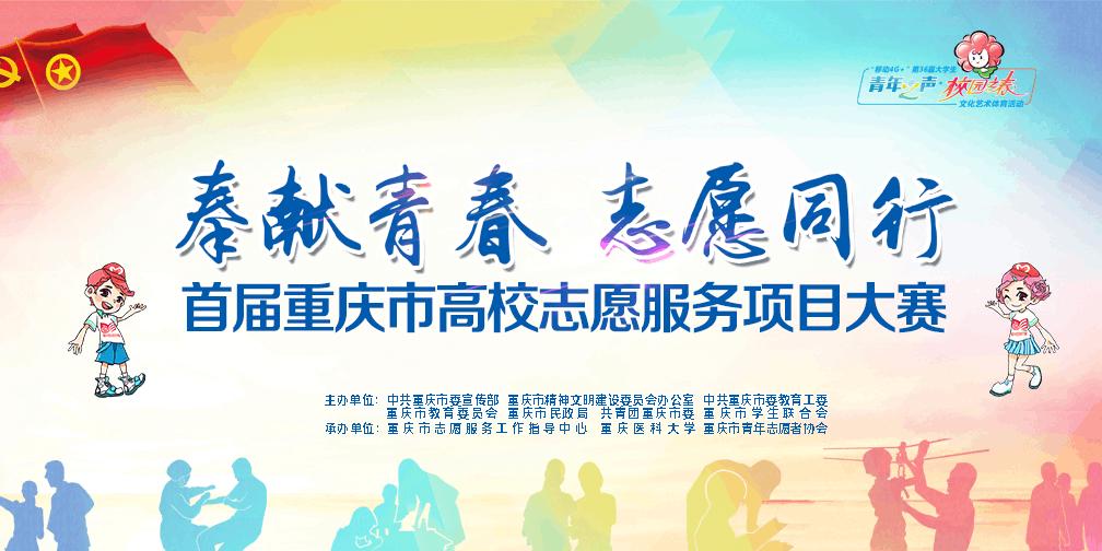 首届重庆高校志愿服务项目大赛决赛圆满落幕
