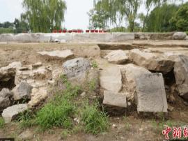 圆明园五处遗址将完成考古发掘 出土上千件文物