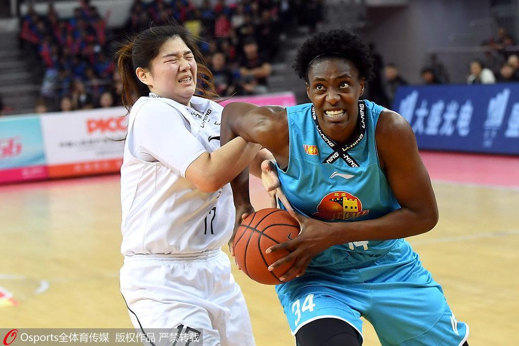 WCBA总决赛G1-北京胜山西 福尔斯23+15邵婷17分