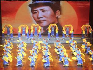 少儿大型音乐舞蹈史诗《又见东方红》在太原首演