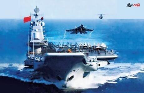 国产001A型航母与美军