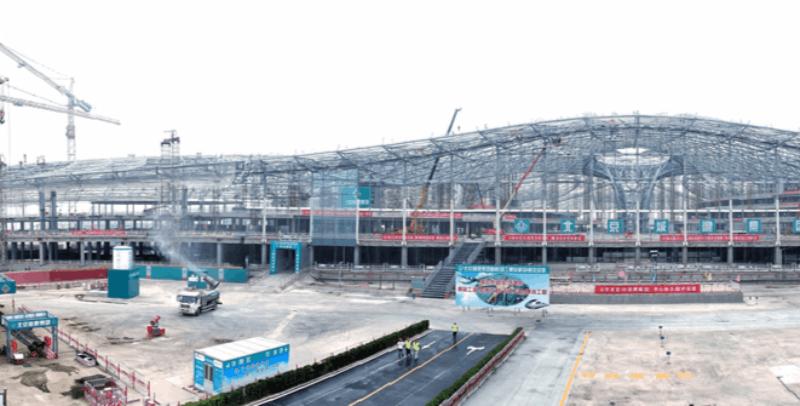 北京新机场建设进展顺利