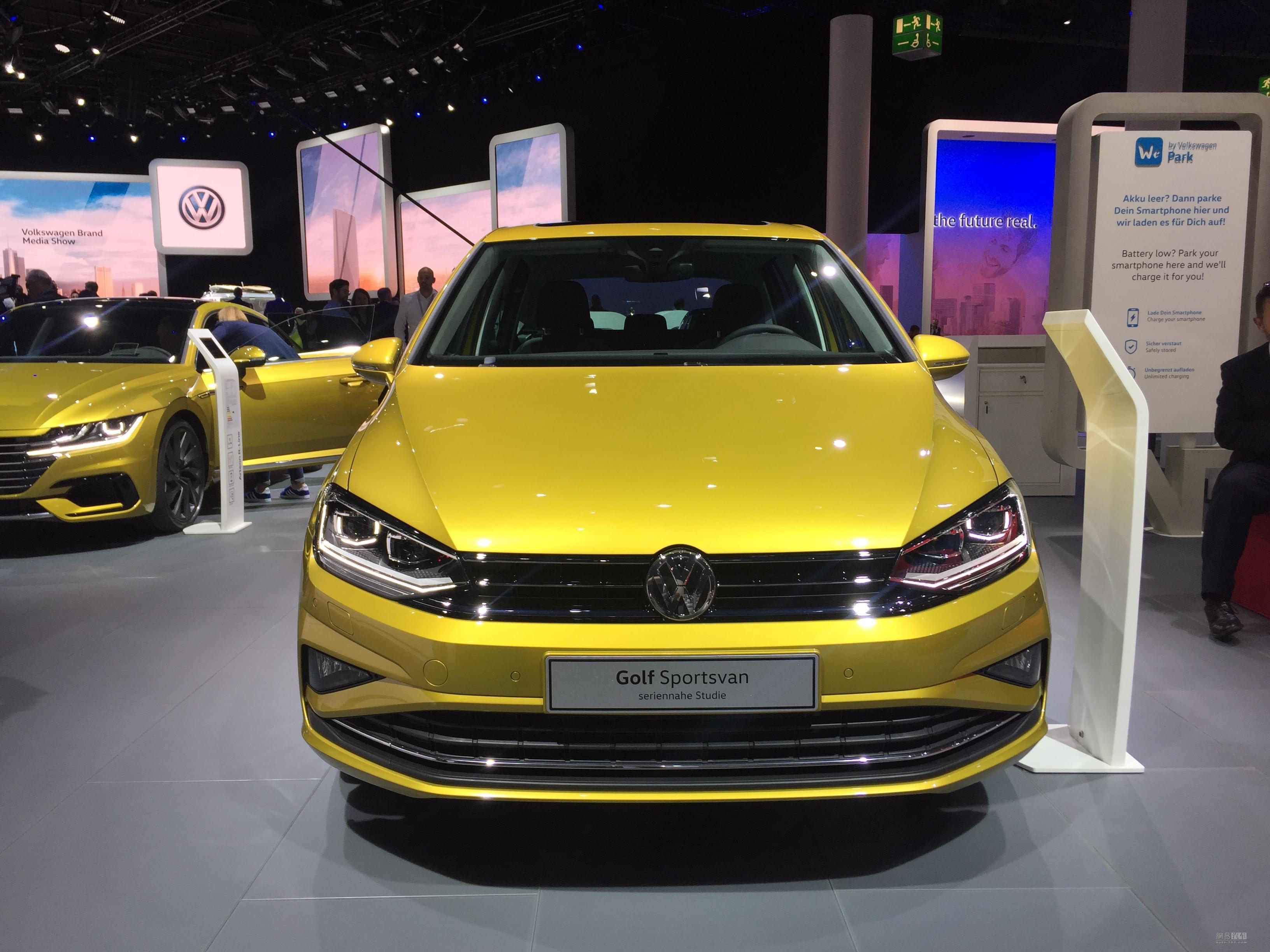 中期改款/外观升级 高尔夫Sportsvan亮相