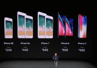 苹果有8款手机在售,有必要买最贵的iPhone X吗