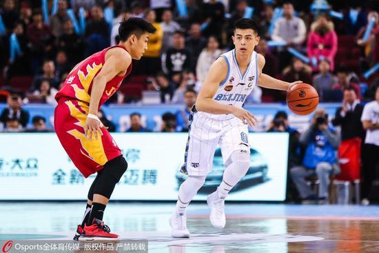 北京16分复仇吉林 杰克逊16+10+10朱彦西8三分