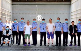 罪犯邹文建、邹华杰、林武雄、彭元方今日被执行死刑