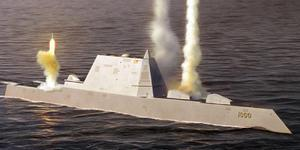 美国海军用不起DDG1000隐身舰?