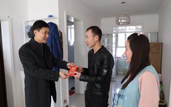 东莞援疆企业为媒 汉族小伙与维吾尔族姑娘喜结连理