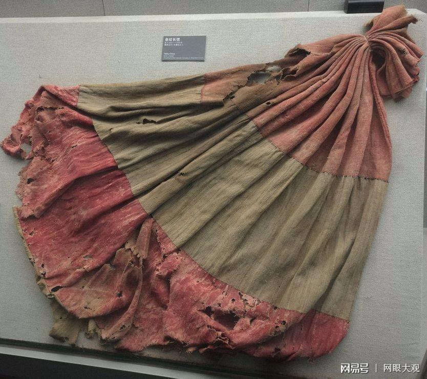 2000多年前的裙子仍然色彩鲜亮有模有样!