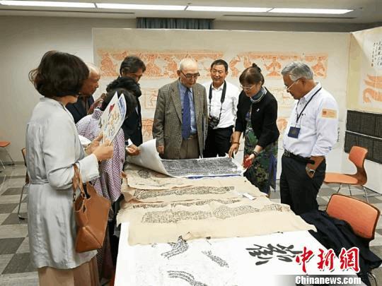 深圳非物质文化遗产精品展在日本仓敷展出
