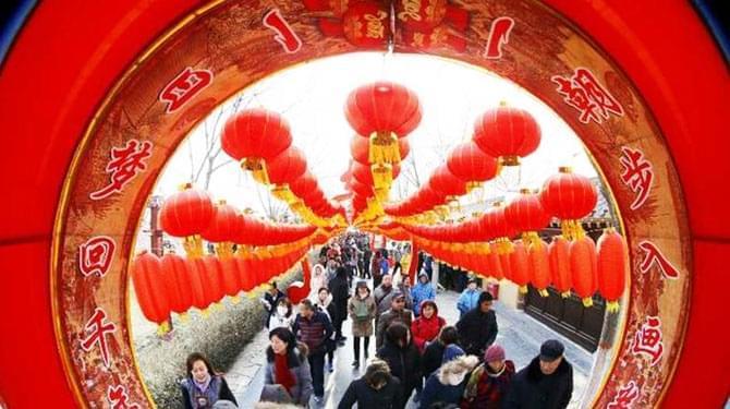 清明上河园春节游客接待量再创历史新高