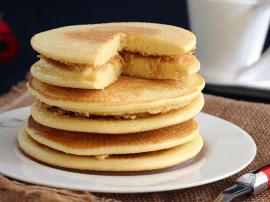 美式早餐食谱 原味松饼的做法