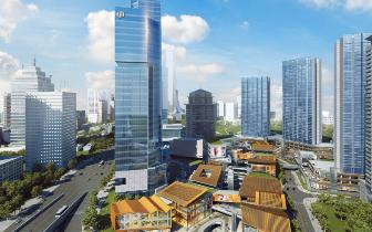 龙湖新壹街地标级写字楼 城市核心商务资产