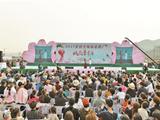 胡陈桃花节万亩桃园吸引10万游客