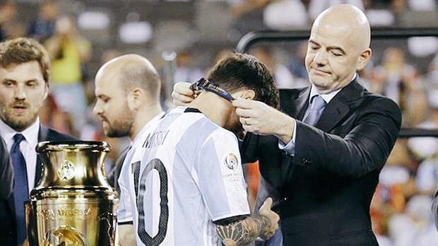 FIFA主席:如果梅西退役时没赢世界杯 是不公平的