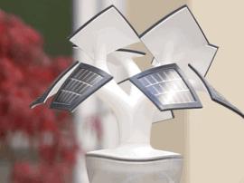 【产品】太阳能盆栽充电器,让圣光赐予我手机能量