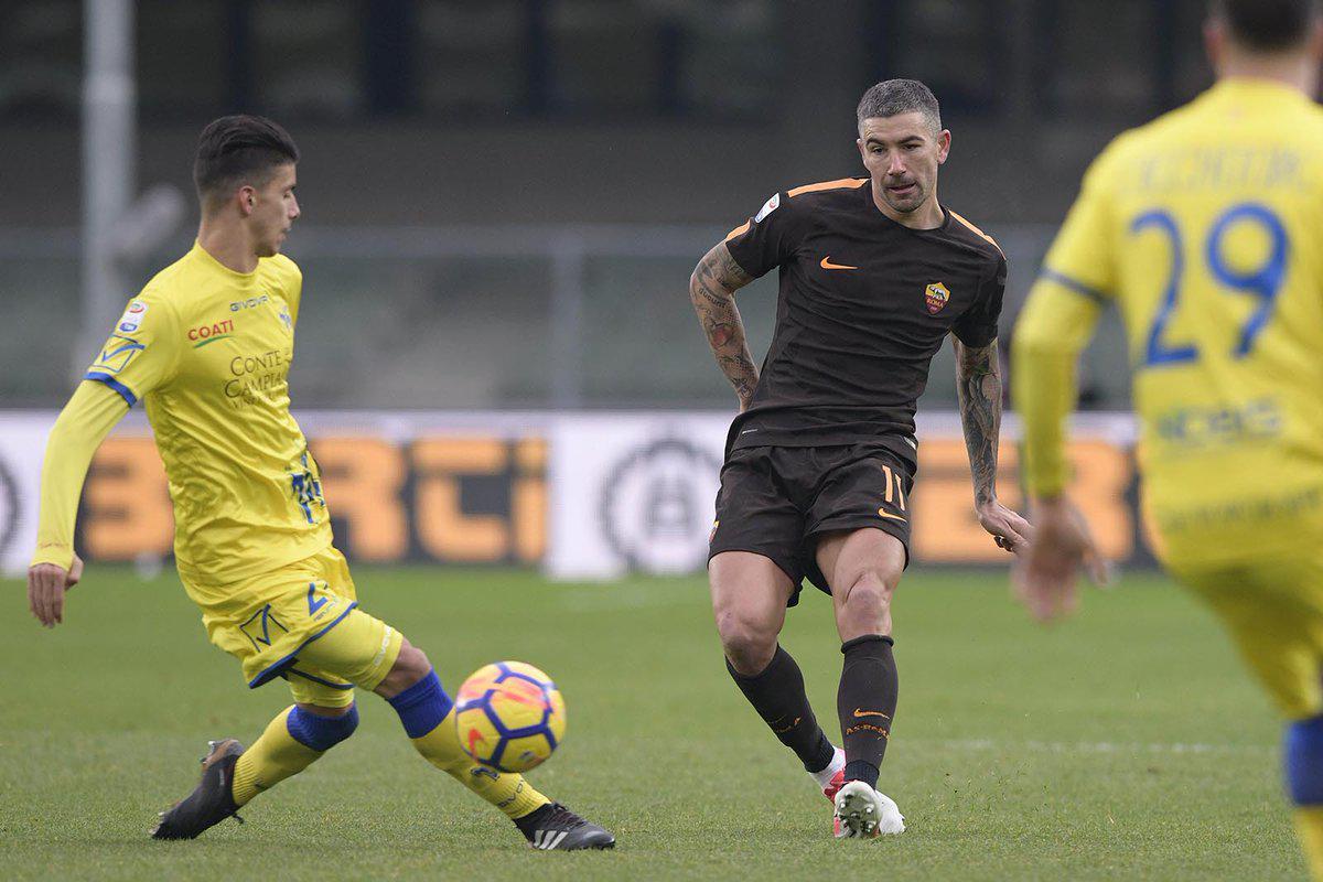 意甲-红狼难耐38岁门神 罗马客场0-0切沃仍居第4