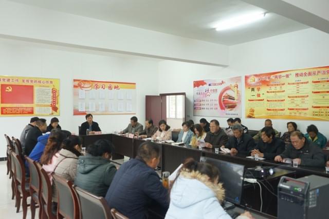 荆州市检察院党组书记、检察长汪存锋到社区宣讲十九大