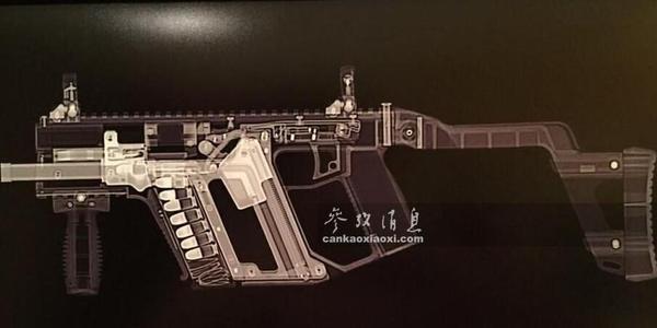 内部清晰可见!X光透视各国经典枪械