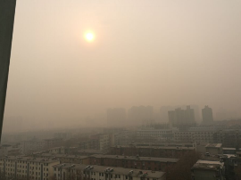 挺住!郑州重度污染将持续到下周!