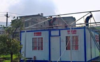 福州高新区拆除一处违建 占地面积约80平方米